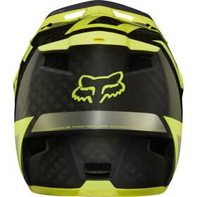 Fox Rampage Pro Carbon Preest Helmet Men yellow/black